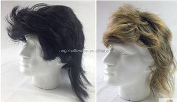 Mullet Wig 80s Fancy Dress Mens Party Costume Rock Bogan Accessory Punk 70s  90s FW2252 e68f8460314c