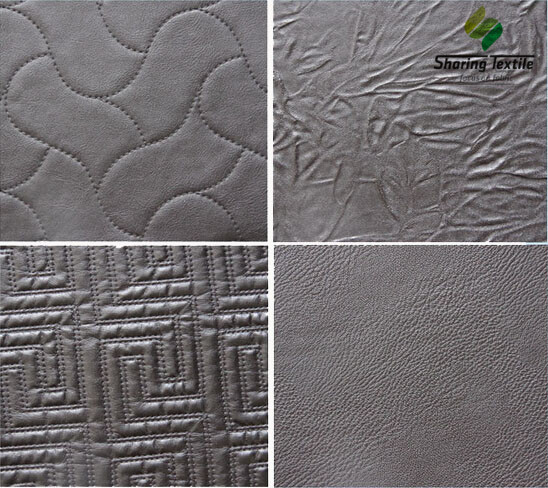 Factory Directly PU Fabric /PU Coated Suede Fabric/PU Leather Fabric