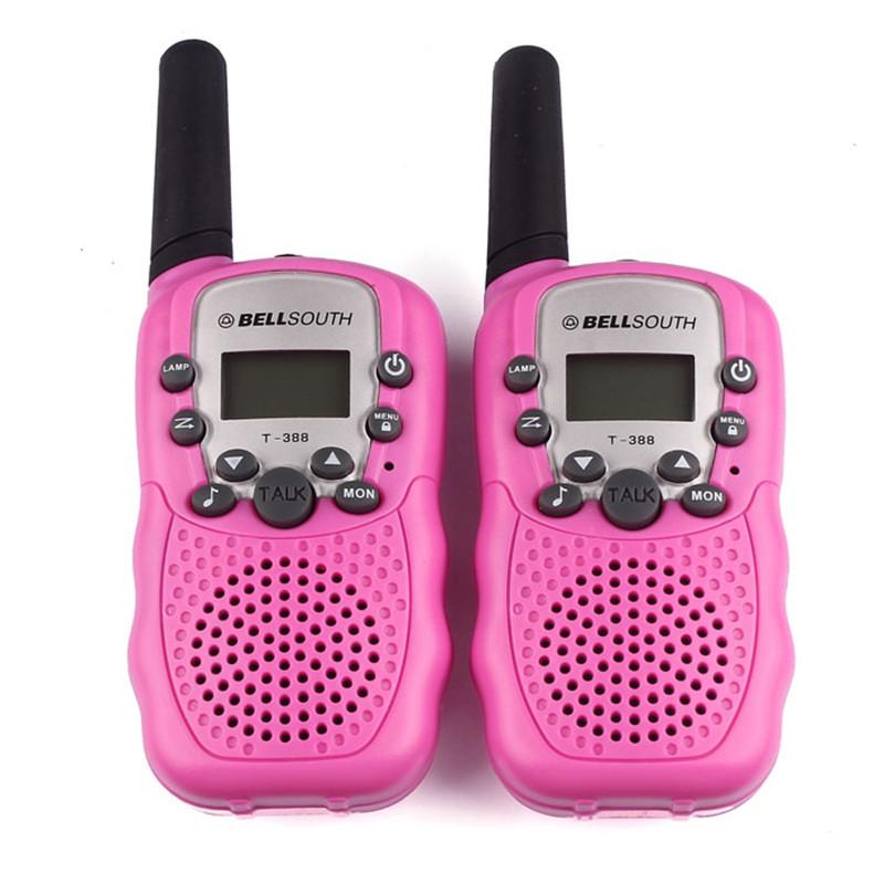 2016 Hot Sale 2pcs Portable Wireless Walkie talkie Set Eight Channel 2 Way Radio Intercom 5KM