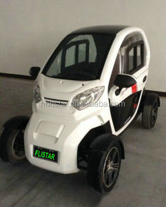 3000w Electric Mobility Scooter 4 Wheel 2 Seats EEC Electric Car