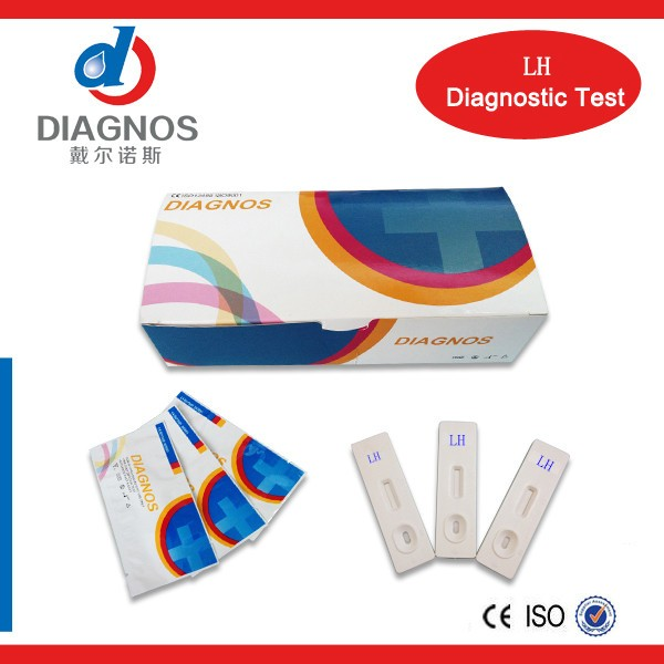 2017 hot selling DIAGNOS clear blue advanced ovulation test for woman