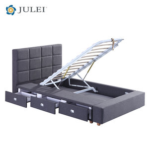 Most popular space save bed strong bed with storage box for bedroom