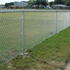 chain link fence posts/removable chain link fence