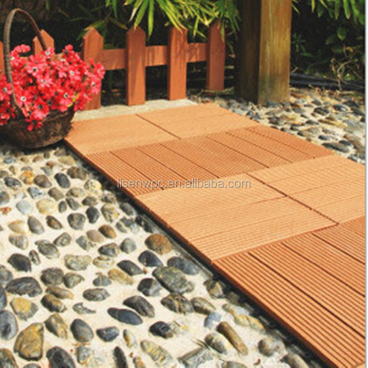 Anhui lisen WPC DIY deck decorate your garden
