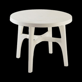 Plastic Round Dining Tableoutdoor Table Setround Table Buy