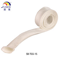 Insulation material High temperature Heat resistant thermal insulation fiberglass sleeve
