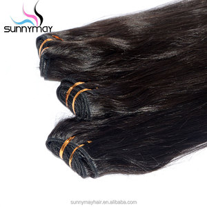 Hair Full Cuticle Raw Unprocessed Virgin Indian Human Hair Bundles 10A Silky Straight Hair Weft