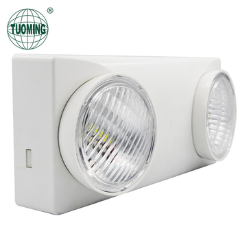 Fire Door Certification Emergency Eixt Sign Light Wall Mounted Rechargeable Lamp For Hotels