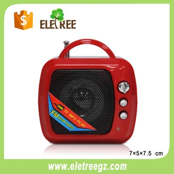 Eletree Ws-575 Hands-free Mini Portable Wireless Cute Tv Shape ...