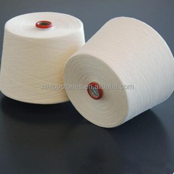 Hot sale lowest market prices for 100% raw bamboo cotton yarn for socks 22s