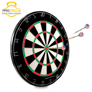 Newest Hanging Wall Dart Board With Disk Aluminum
