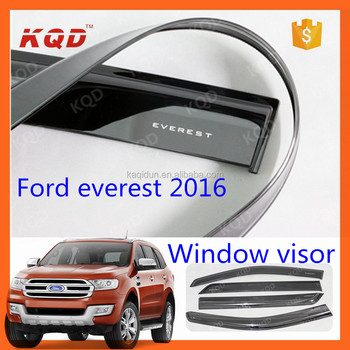 car sun visor manufacturers black wind deflectors window visors rain visor  for everest accessories 2015 2016 dd5063f195d