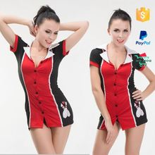 High Sublimation Bowling Cheerleader Costume Girl