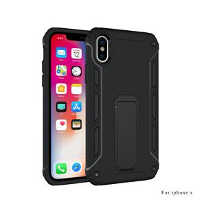 DFIFAN Ultimate armor durable phone case for iphone x High grade protection phone back cover for iphone x with support stand