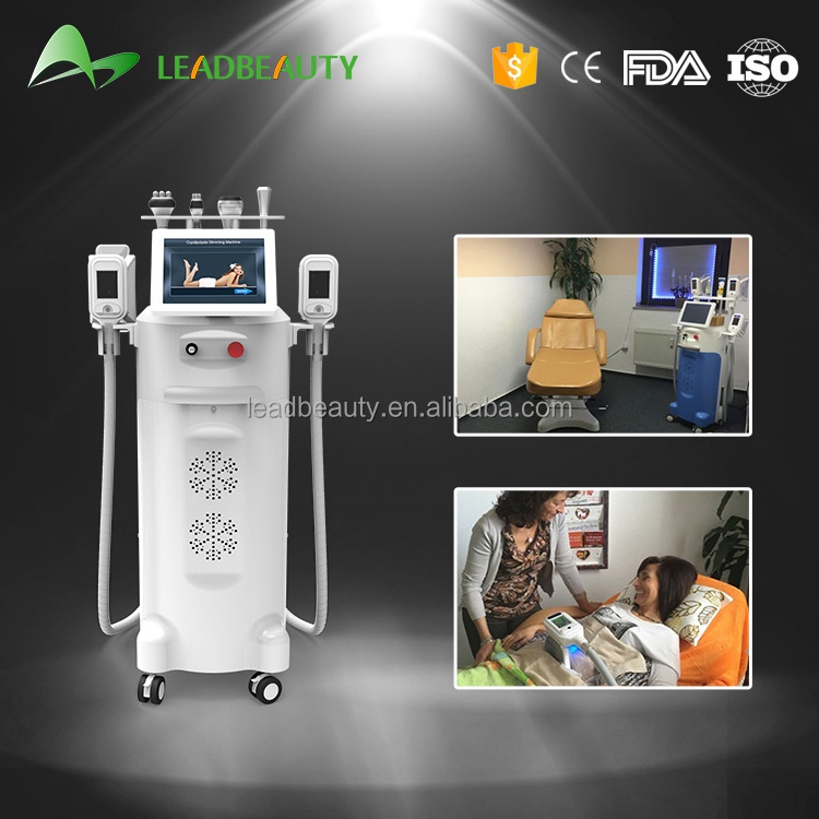 CE / FDA approved 5 treatment handles weight loss fat reduction cool fat freeze sculpting cryolipolysis machine price