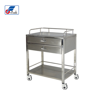 Hospital Furniture Stainless Steel Serving Cart Medicine Trolley Buy Stainless Steel Cart With Wheelsmedicinal Delivery Cartstainless Steel