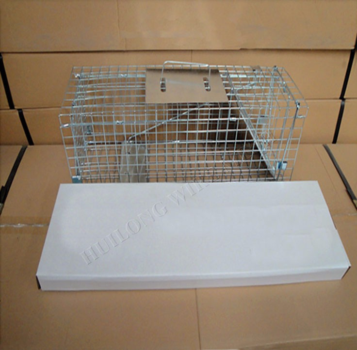 Rolling Raccoon cage- 63''round x 20''long