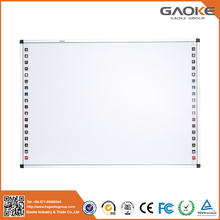 82'' 96'' 104'' virtual whiteboard interactive whiteboard free GAOKE software school writing board XPS panel touch white board