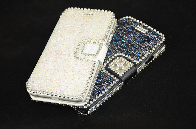 2015 rhinestone phone protect case for cell phone 6 full diamond cover