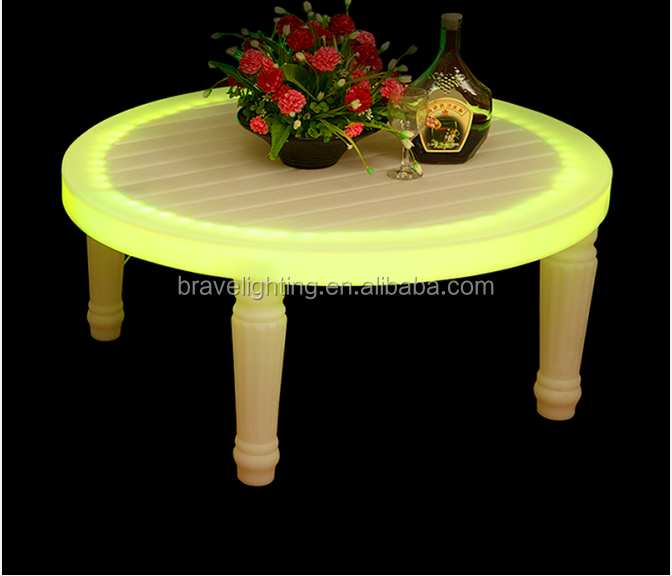 led glow furniture lighting patio