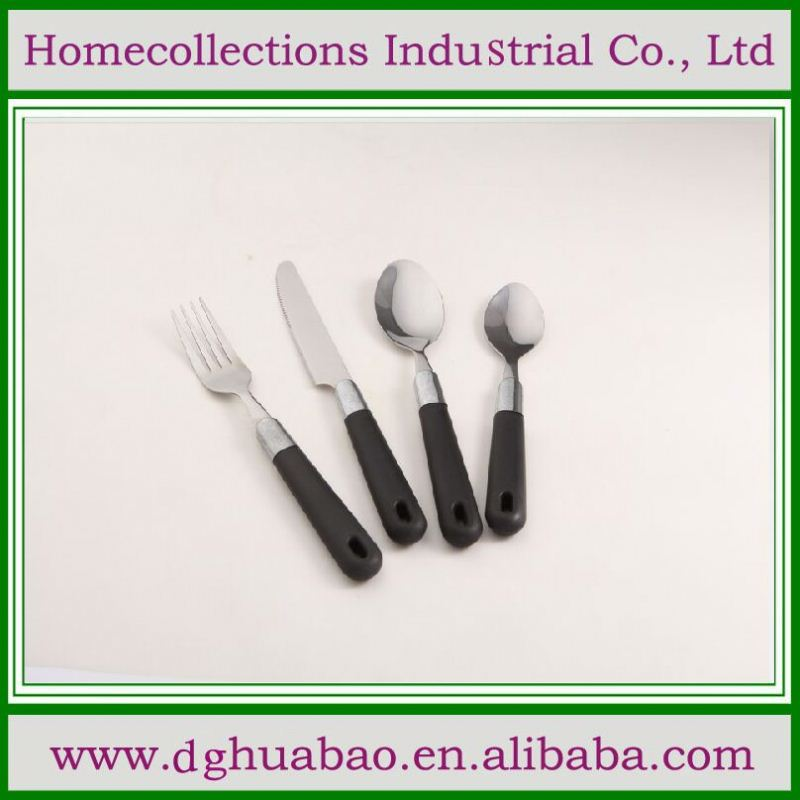 2014 cheap & high quality cutlery with porcelain handles