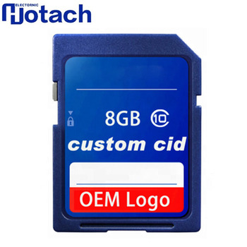 Factory High Speed SD Memory Card 8GB Changeable CID
