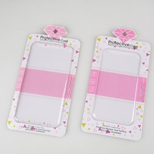 Cell phone case package Plastic box