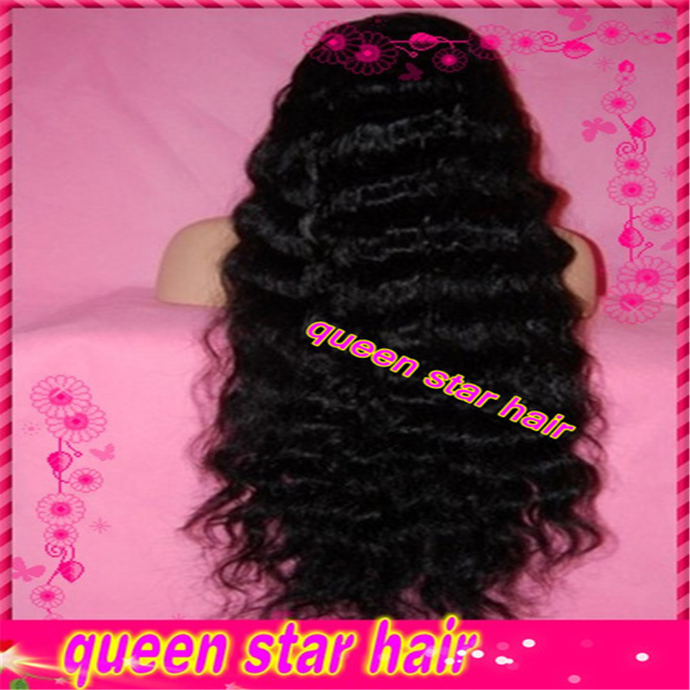 7a Virgin brazilian glueless silk top full lace wigs wavy silk top lace front human hair