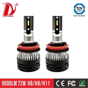 V5 H8 LED Headlight Bulb Mini Bulb LED Auto Lamp 50W 7600lm Plug and Play Car LED Headlight