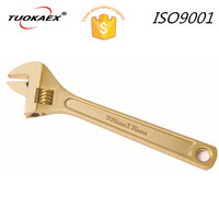 non sparking aluminum bronze adjustable wrench