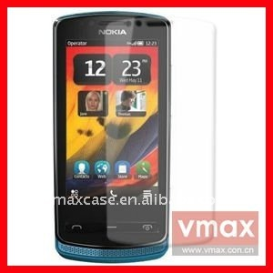 Mobile phone mirror screen protector film for Nokia 700