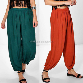 b656feeec114 Hot Quality Women Design Pants Harem Trousers New Style Women Baggy Pants  Slouchy Trousers Fashion Casual