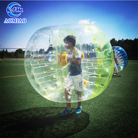 Kids inflatable bubble soccer ball popular football training game for fun