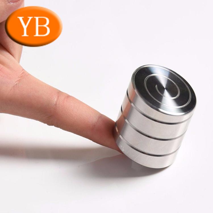 Hot Stainless steel Aluminum Brass Vortecon Kinetic Desk Toy