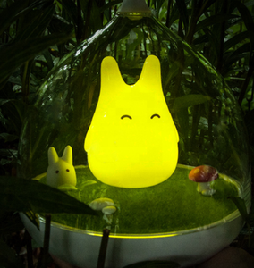 Newest Style The Totoro Portable Touch Sensor USB LED Baby Night Light Bedside Lamp For Children Gifts