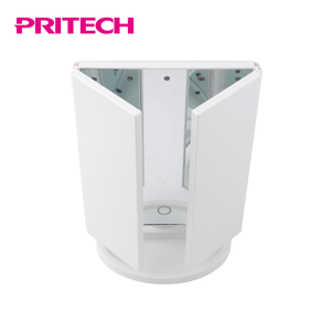 PRITECH Convenient Smart Touch Led Lighted Makeup Folding Mirror