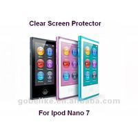 Newest! Factory price!!! ISO standard! For Ipod Nano 7 high transparent screen protector