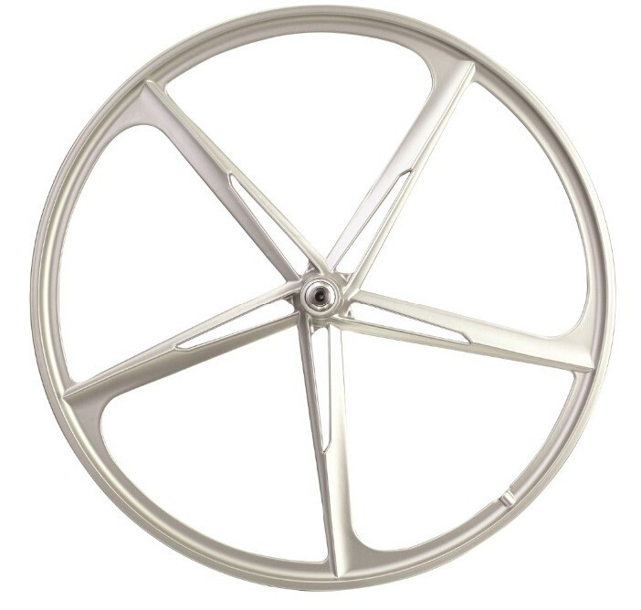 "5 spoke bicycle wheel 26"" alloy wheel rim for upland bike"