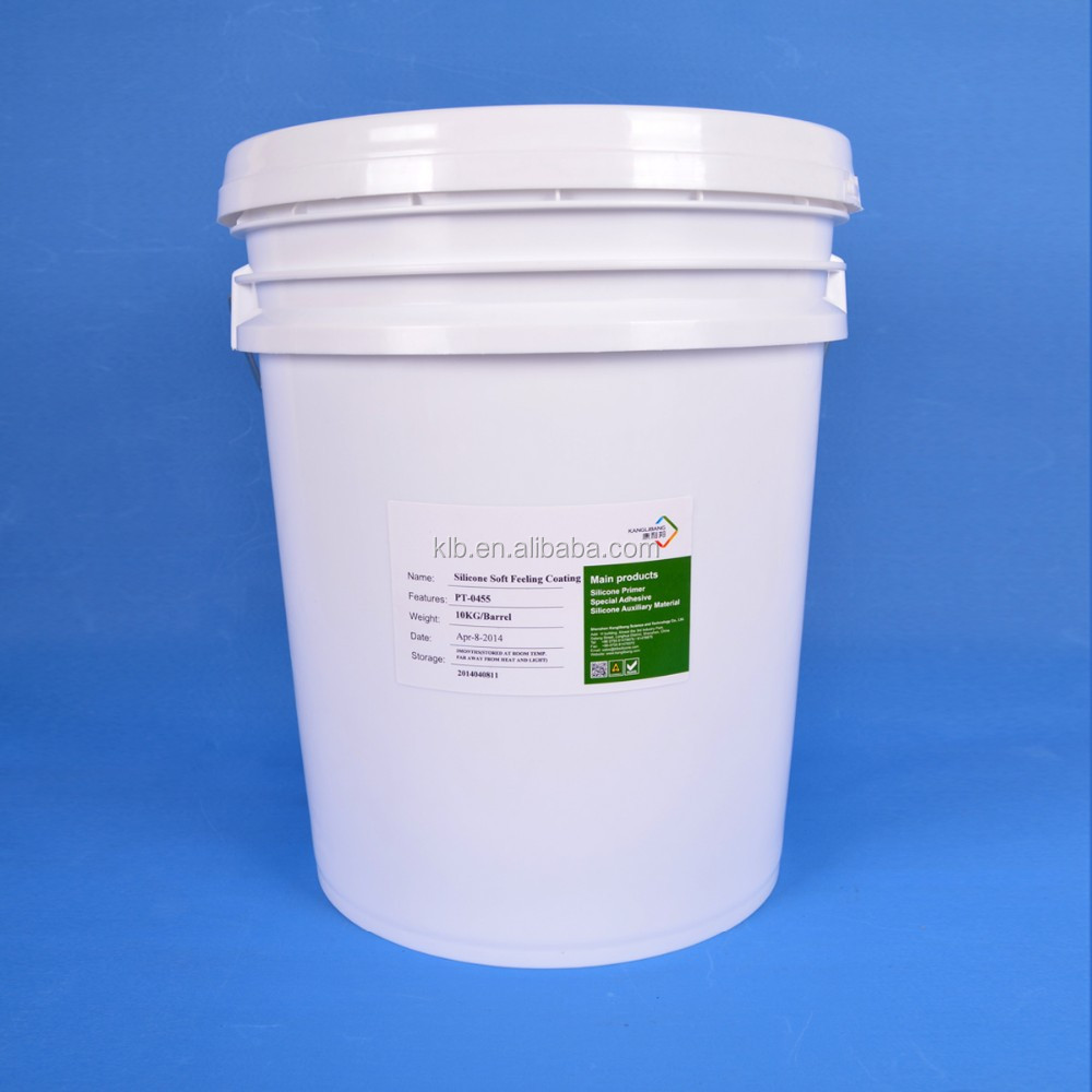 Silicone resin coating for silicone rubber matt finish