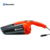Vacmaster 12V Mini portable car vacuum cleaners with retractable crevice tool, LED light,Washable filter, DC plug, HV1201