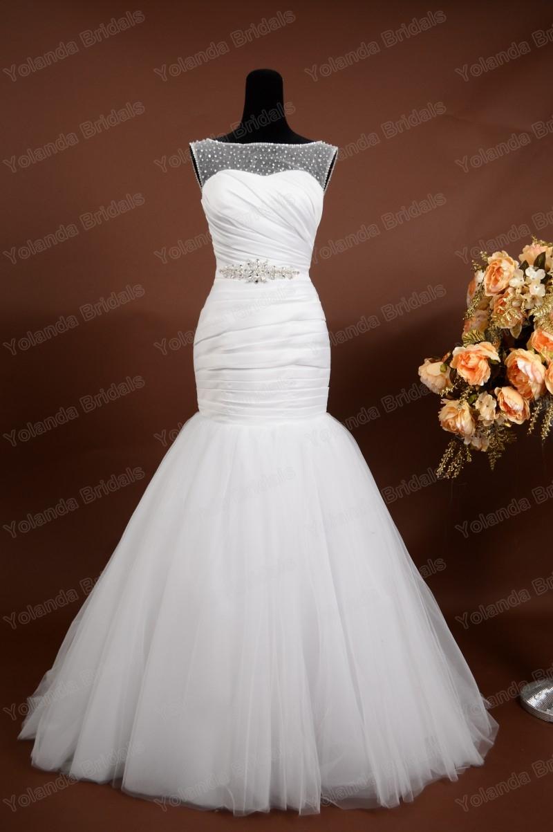 5a37a61ef2 Hot Sale Elegant Wedding Gown Pleated
