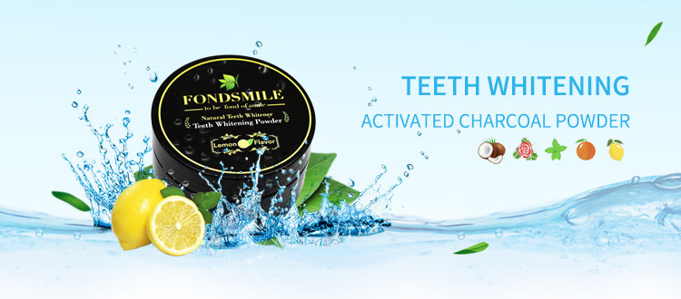 OEM Available Natural 30g/60g Food Grade Teeth Whitening Activated Coconut Charcoal Powder In USA