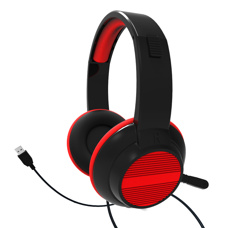 New Products 2017 Call Center Headsets Calling Center Headphones With MIC Microphone USB Port