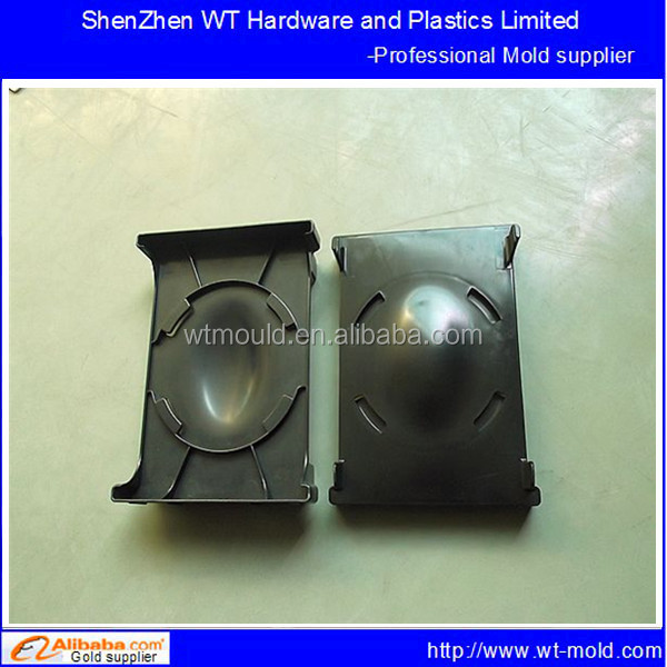 Injection molding loudspeaker box plastic cover