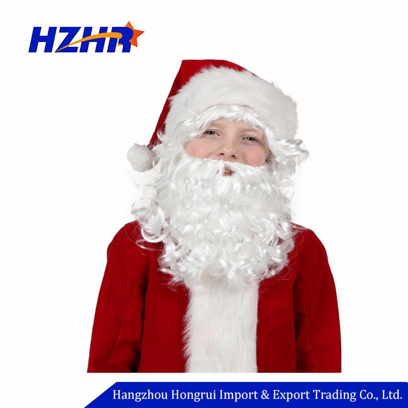 2018 decoraciones de Navidad Santa Claus barba y peluca-Suministros ...