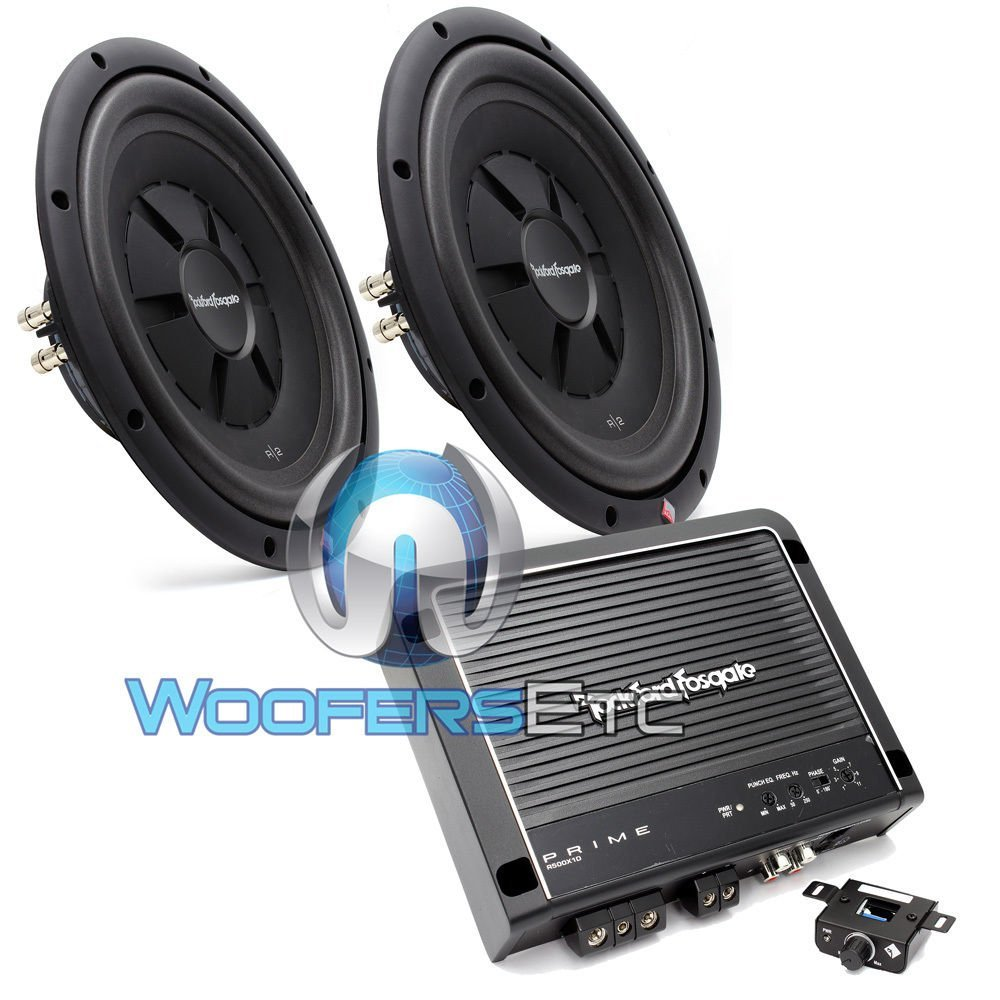 Buy Rockford Fosgate R500X1D Amplifier + Wiring Kit Bundle