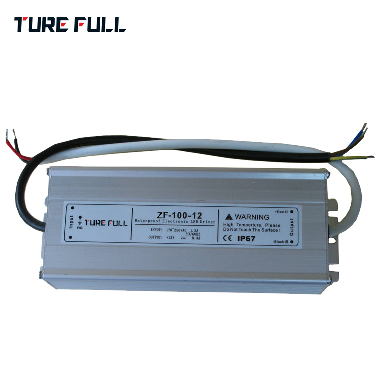 Factory outdoor waterproof lighting 10w switching power supply 100w led driver 700ma