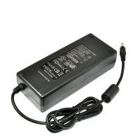 class 2 power supply input 110v-240v ac to 24v 5a dc power adapter for lcd tv 120w desktop adaptor