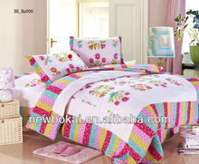 100% cotton quilted comforter