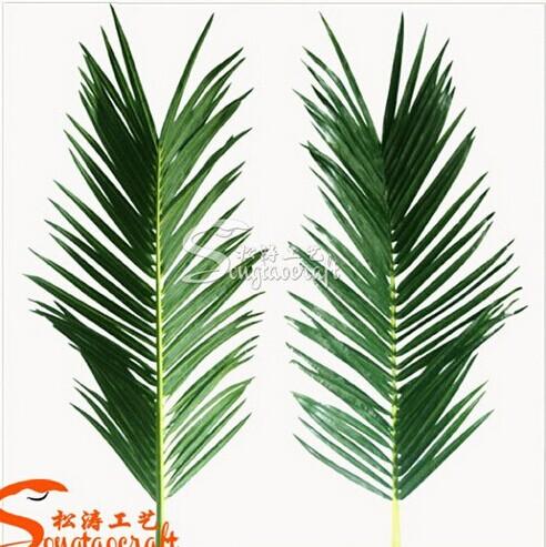 wholesale artificial palm leaves fake artificial leaves decorative artificial palm tree leaves. Black Bedroom Furniture Sets. Home Design Ideas
